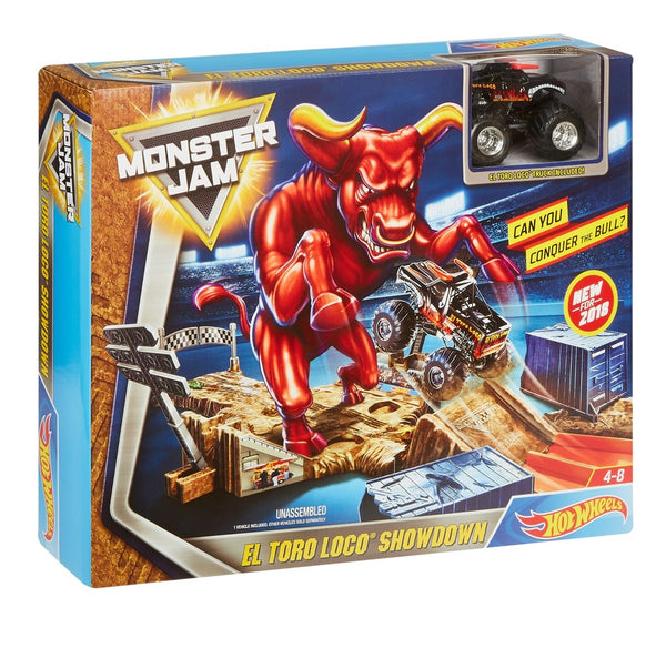 HOT WHEELS® MONSTER JAM® EL TORO LOCO® SHOWDOWN