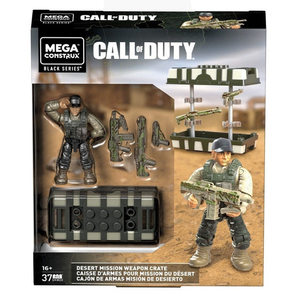 CALL OF DUTY CARE PACKAGE - CAJÓN DE ARMAS MISIÓN DE DESIERTO FVF98