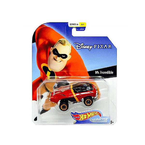 HOT WHEELS AUTOS PERSONIFICADOS DE DISNEY - MR. INCREÍBLE GCK28