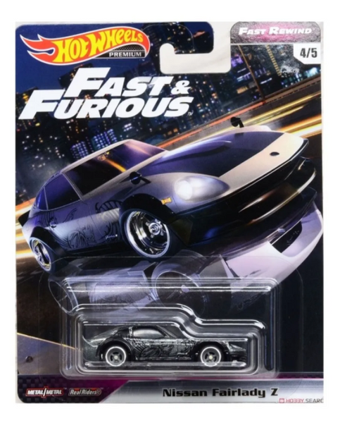 Hot Wheels Fast & Furious Fast Rewind Serie - Nissan Fairlady Z GBW75