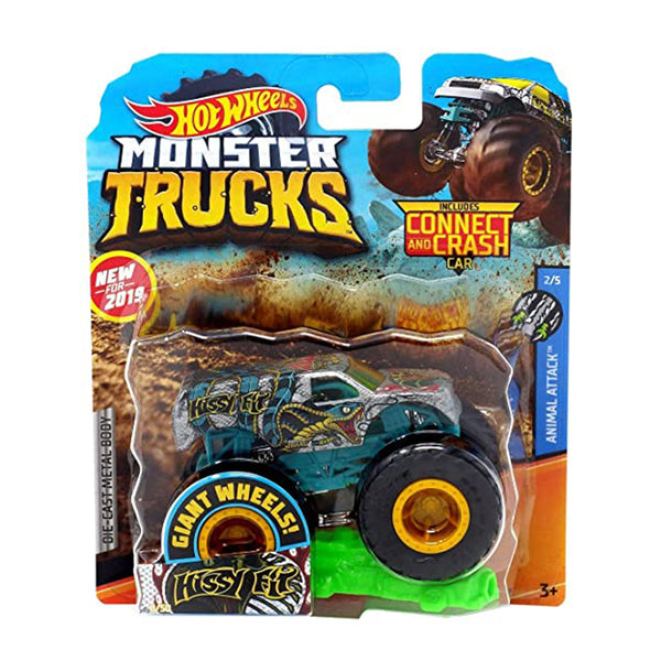 HOT WHEELS MONSTER TRUCKS - HISSY FIT 1:64 FYJ44