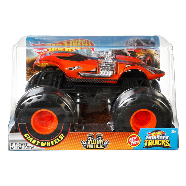 HOT WHEELS MONSTER TRUCKS ESCALA 1:24 - TWIN MILL FYJ83