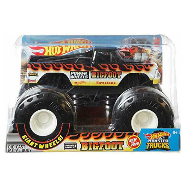 HOT WHEELS MONSTER TRUCKS ESCALA 1:24 - BIGFOOT FYJ83