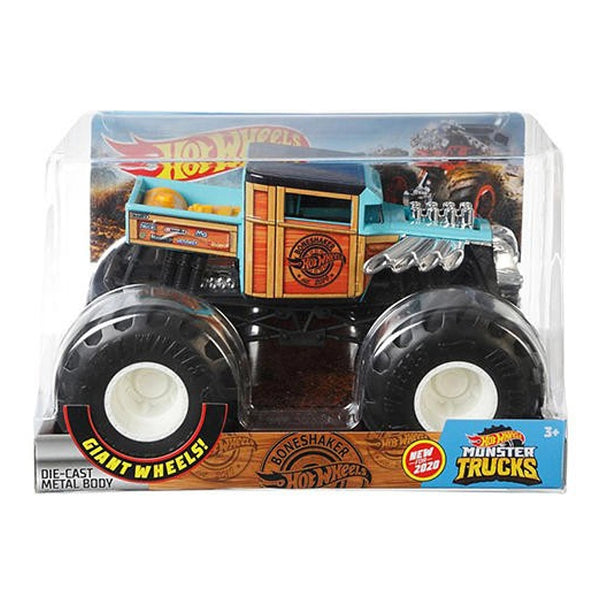 HOT WHEELS MONSTER TRUCKS ESCALA 1:24 - BONESHAKER FYJ83