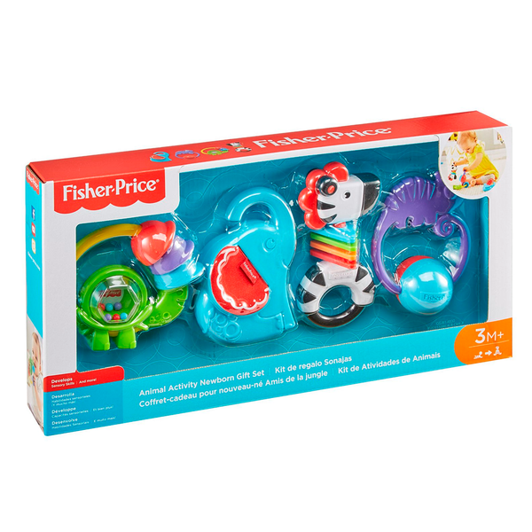 FISHER PRICE - KIT DE REGALO SONAJAS GGJ81