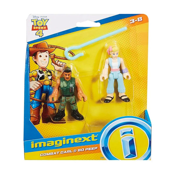 FISHER PRICE IMAGINEXT TOY STORY 4 FIGURAS - COMBAT CARL Y BO PEEP