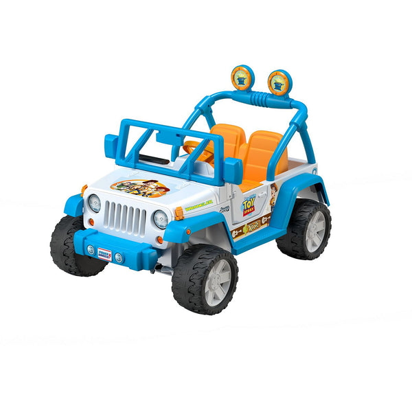POWER WHEELS® DISNEY PIXAR TOY STORY JEEP® WRANGLER