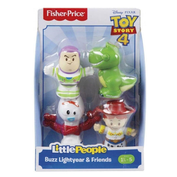 FISHER PRICE LITTLE PEOPLE TOY STORY 4 SURTIDO DE FIGURAS - BUZZ LIGHTYEAR Y SUS AMIGOS GFY07