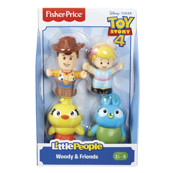 FISHER PRICE LITTLE PEOPLE TOY STORY 4 SURTIDO DE FIGURAS - WOODY Y SUS AMIGOS GFY07