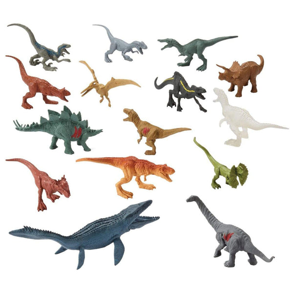 JURASSIC WORLD 15PACK MINIDINO FPX90