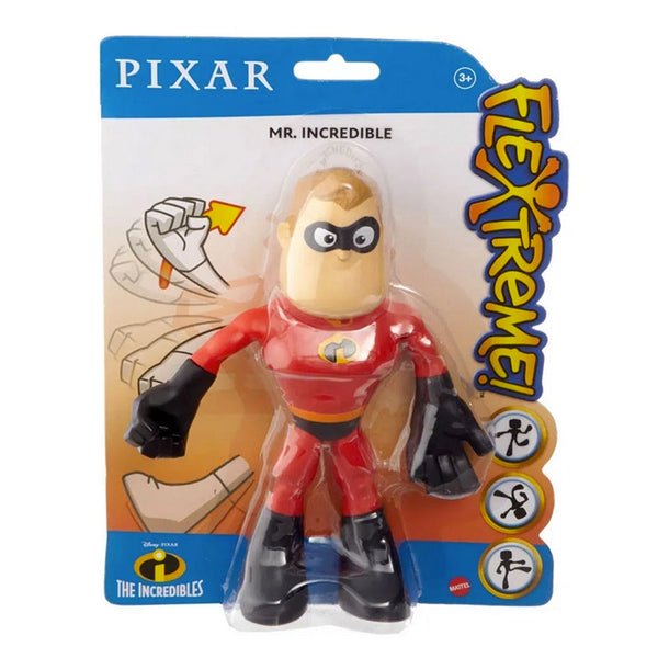 "PIXAR FIGURA FLEXIBLE 7"" - MR. INCREÍBLE GGK83"