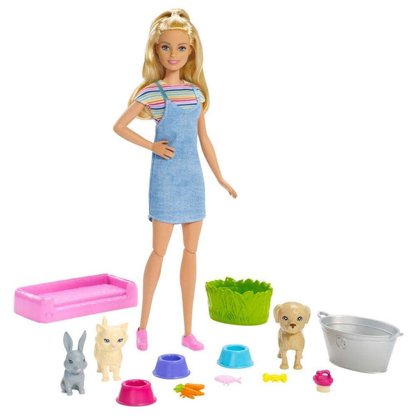 BARBIE BAÑO DE PERRITOS FXH11