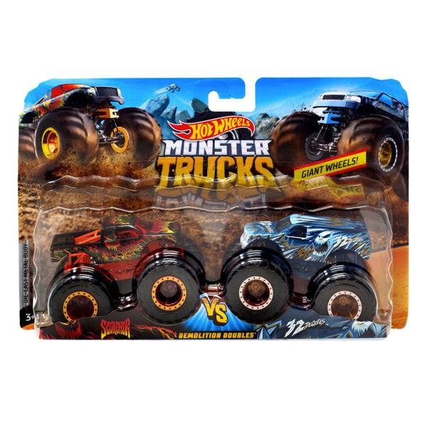 MONSTER TRUCKS ESCALA 1:64 - SCORCHER VS 32 DEGREES FYJ64