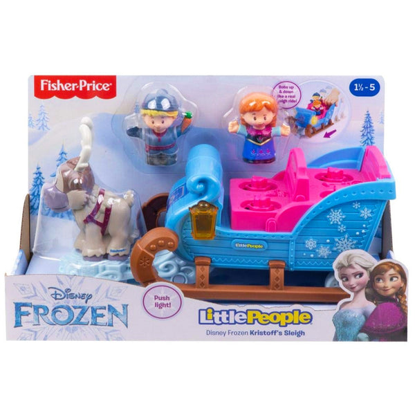 FISHER PRICE LITTLE PEOPLE EL TRINEO DE KRISTOFF - MATTEL GGV30