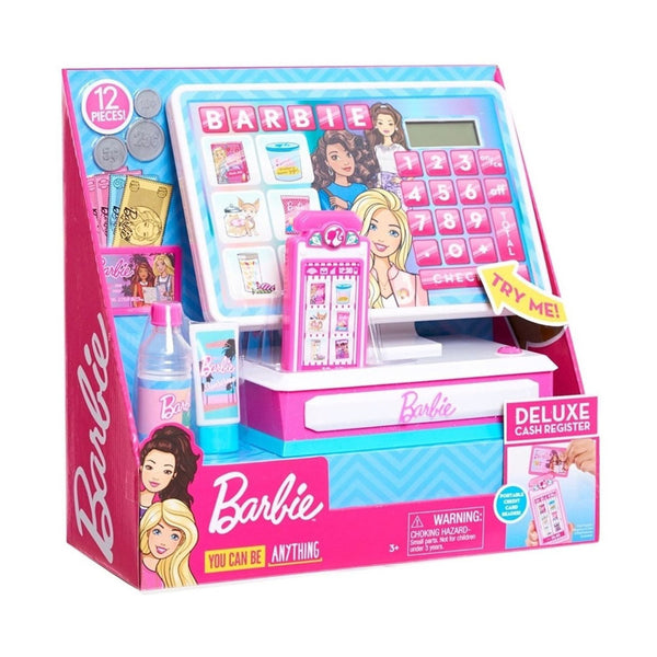 BARBIE - MEGA CAJA REGISTRADORA GMT95