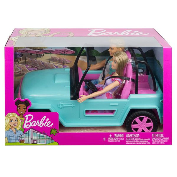 BARBIE AUTO DE PLAYA GHT35