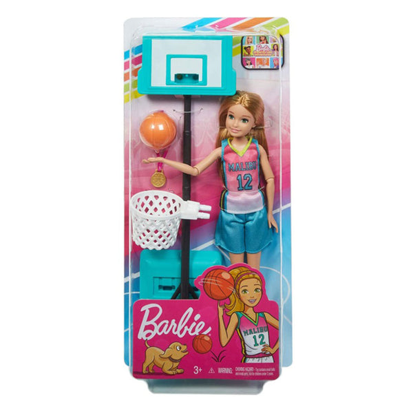 BARBIE DREAMHOUSE ADVENTURES - SORELLE BASKETBOLISTA GHK34