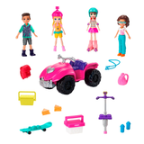 POLLY POCKET - PACK 3 MUÑECAS CASA CLUB DE POLLY GNH09
