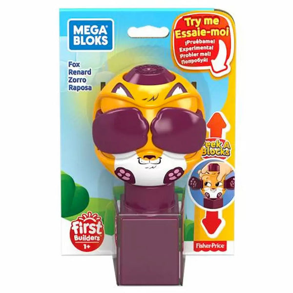 FISHER PRICE MEGA BLOKS PEEK A BLOCKS JUGUETE PARA BEBÉ - ZORRO GKX45