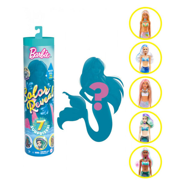BARBIE® COLOR REVEAL™ SIRENAS GVK12