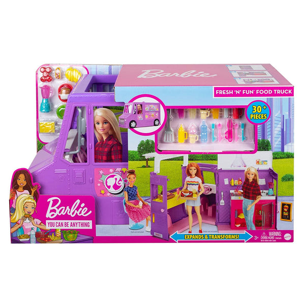 BARBIE FOOD TRUCK GMW07
