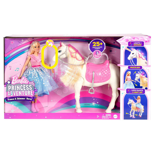BARBIE AVENTURA DE PRINCESAS MORNING STAR GML79