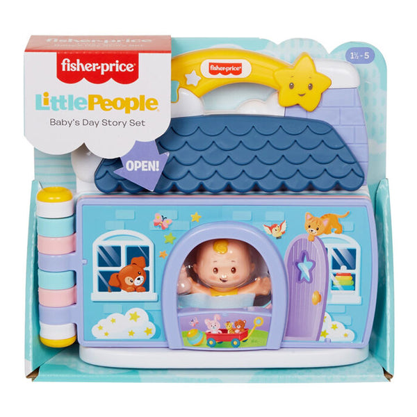 FISHER PRICE LITTLE PEOPLE BABIES SET HISTORIAS DEL BEBÉ GTW40