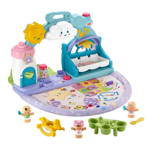 FISHER PRICE LITTLE PEOPLE BABIES GUARDERIA APRENDE CONMIGO GRW94