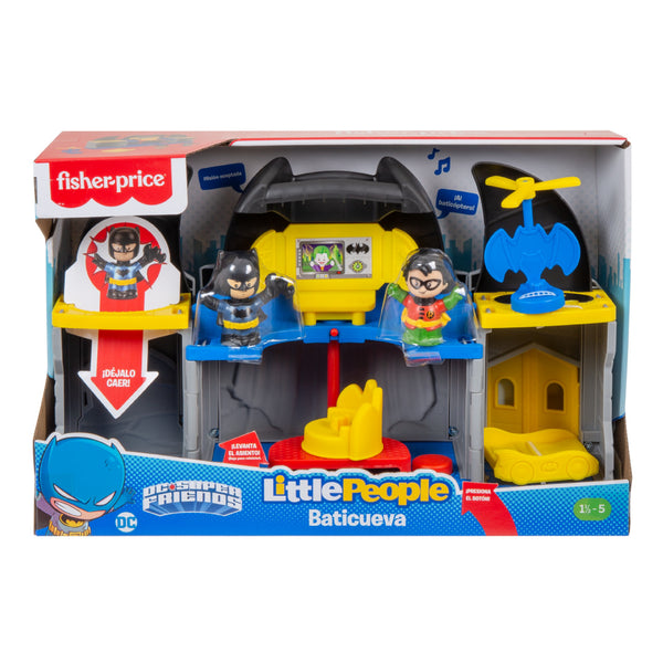 FP LITTLE PEOPLE DC SUPER FRIENDS BATICUEVA GTM19