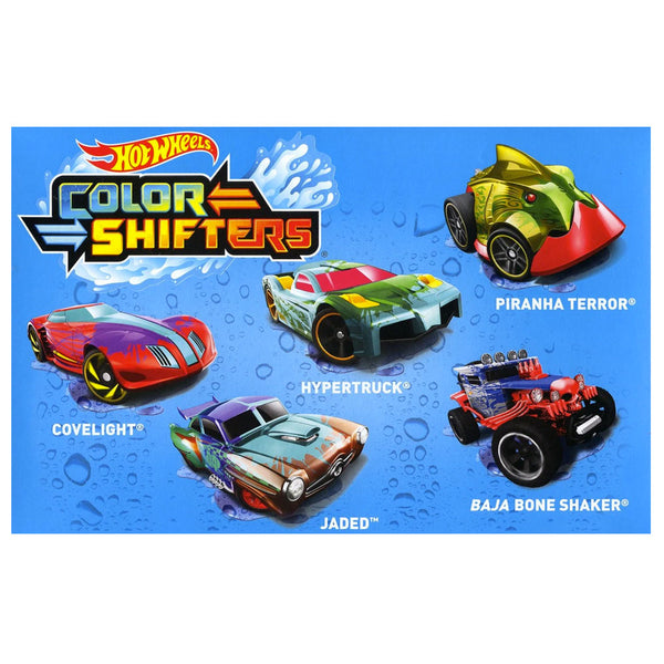 HOT WHEELS PAQUETE DE 5 COLOR SHIFTERS GMY09