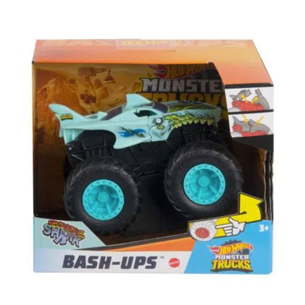 HOT WHEELS MONSTER TRUCKS SURTIDO ESCALA 1:43 - SHARK GPY49