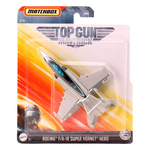MATCHBOX SKYBUSTERS TOP GUN MAVERICK - SUPER HORNET HERO GVW30