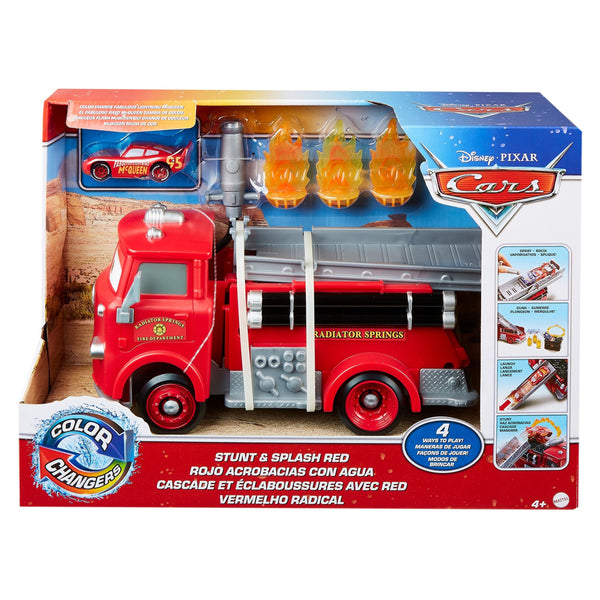 CARS COLOR CHANGE PLAYSET ROJO GPH80