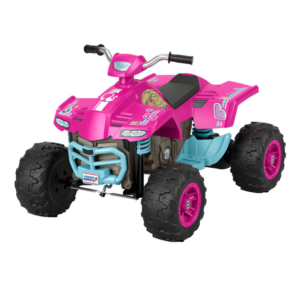 FISHER PRICE POWER WHEELS BARBIE ATV GWT19