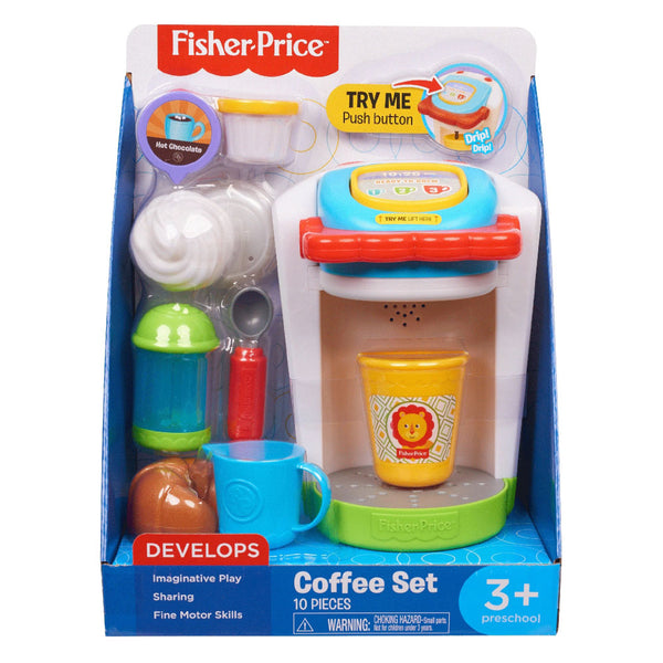 FISHER PRICE SET DE CAFETERA HBB10