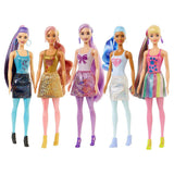BARBIE COLOR REVEAL SURTIDO BRILLANTE GWC55