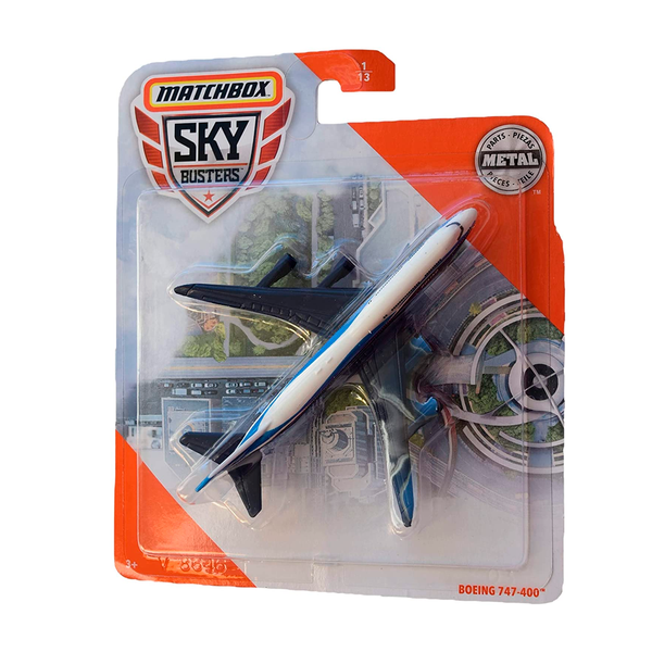MATCHBOX SKYBUSTERS - BOEING 747-400 68982