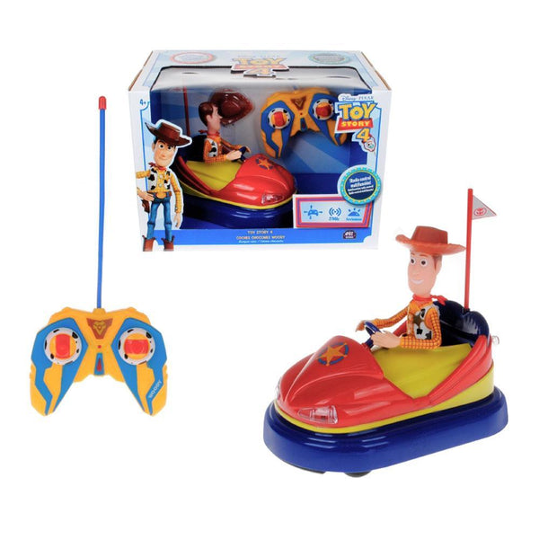 TOY STORY 4 RC COCHES CHOCONES WOODY 26651