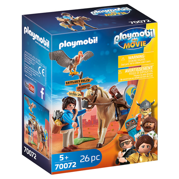 MARLA WITH HORSE PLAYMOBIL 70072