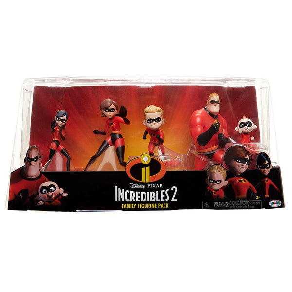 LOS INCREÍBLES 2: FAMILY FIGURINE PACK