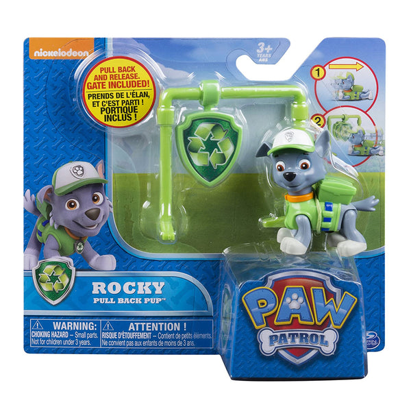 PAW PATROL CACHORRO TRANSFORMABLE - ROCKY 6024265