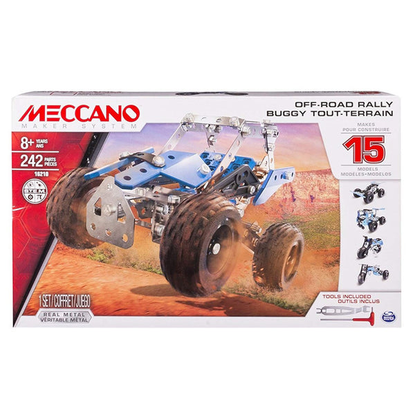 MECCANO NEW 15 MODELS SET F15 6028636