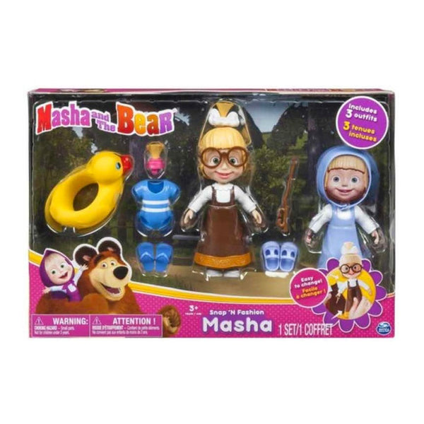 MBP SNAP FASHION MASHA DOLL 6034405