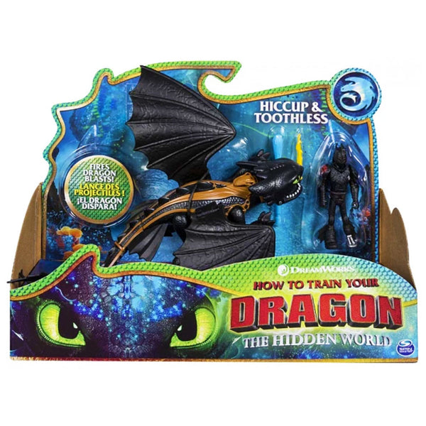 DRAGÓN Y VIKINGO - HICCUP Y TOOTHLESS