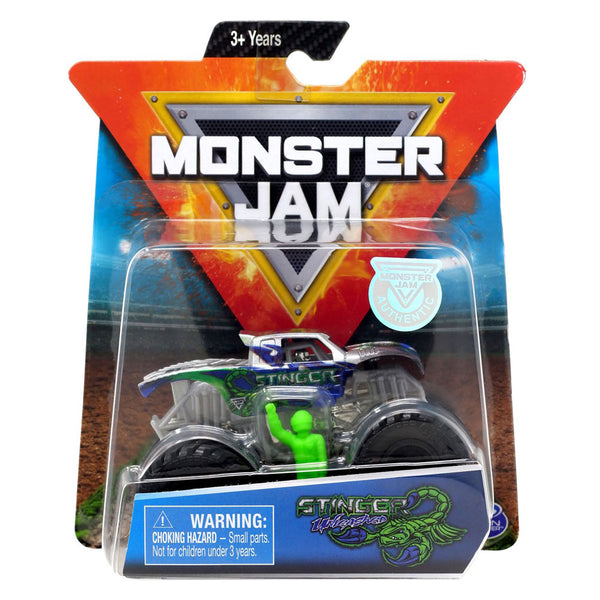 1:64 1 PACK MONSTER JAM - STRINGER