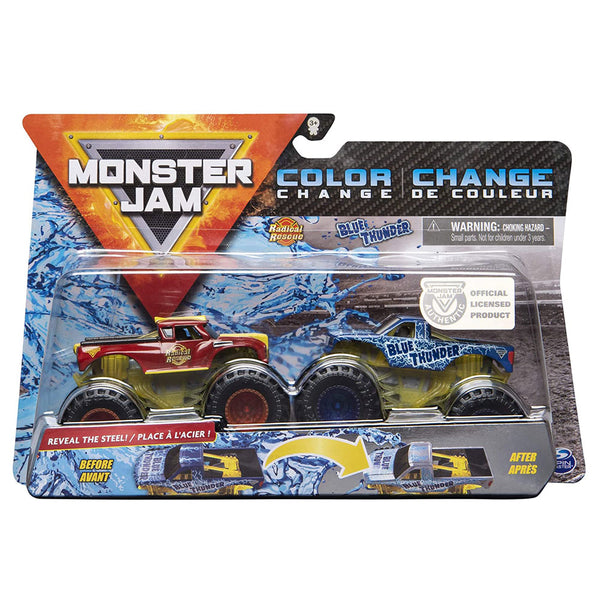 MONSTER JAM - RADICAL RESCUE AND BLUE THUNDER 6044943