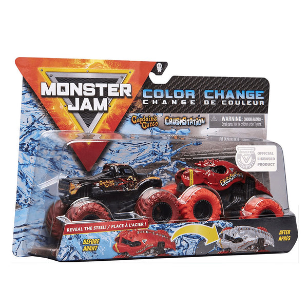 MONSTER JAM - CAPTAIN´S CURSE AND CRUSHSTATION 6044943