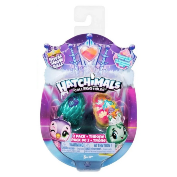 HATCHIMALS COLECCIONABLES 2 FIGURAS + NIDO TEMPORADA 6 6047181