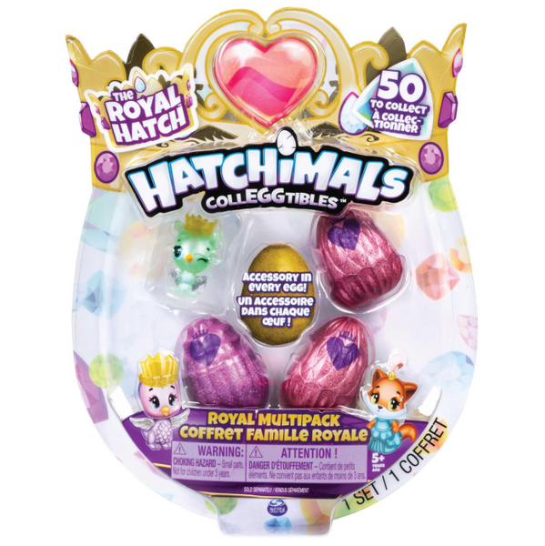 HATCHIMALS COLECCIONABLES 5 FIGURAS TEMPORADA 6 6047212