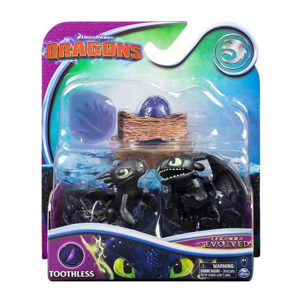MINI DRAGONES EN EVOLUCIÓN - TOOTHLESS 6054690